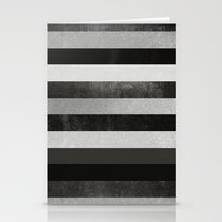 noir Stationery Cards featuring Noir by Elisabeth Fredriksson