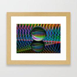 All The Colours Framed Art Print