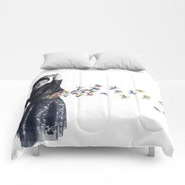 Untitled IV Comforters