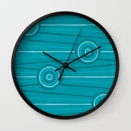 Reef Line Painting Wall Clock
