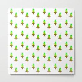 Christmas tree 5 Metal Print