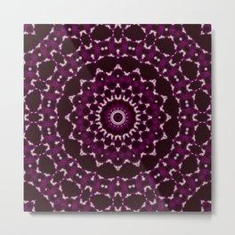 Purplexity Metal Print
