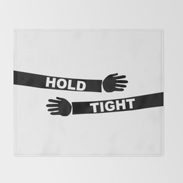 Hang Tight Throw Blanket