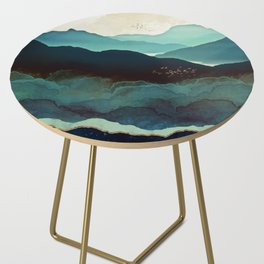 Indigo Mountains Side Table