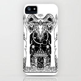 Ritual of Capricorn iPhone Case