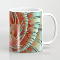 lily Mugs featuring Lily by Christine baessler