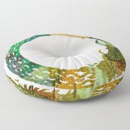 jörmungand Floor Pillow