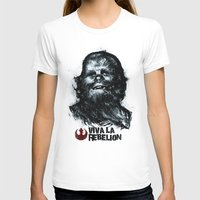 che T-shirts featuring CHE-wbacca by Carlos Rocafort