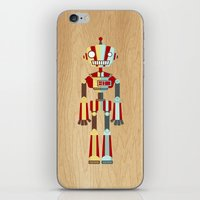 robot iPhone & iPod Skins featuring Robot by LindseyCowley