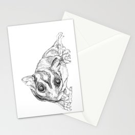 A Sketch :: A Sugar Glider Named Loki Stationery Cards