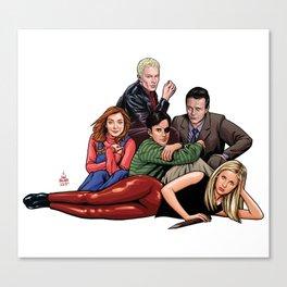 The Sunnydale Club Canvas Print