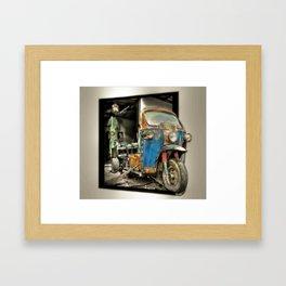 Tuk-Tuk Framed Art Print