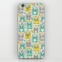 Tiki Kitty iPhone Skin
