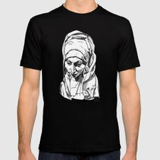 Our Lady of Sorrows Black Mens Fitted Tee MEDIUM
