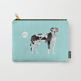 great dane funny farting dog breed gifts Carry-All Pouch