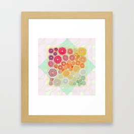 1493 Framed Art Print