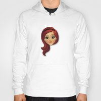 redhead Hoodies featuring Redhead by Lindella