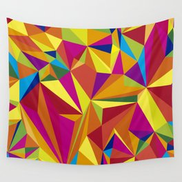 COLOUR MAZE 1 Wall Tapestry