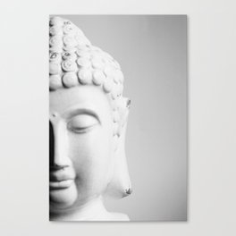 practice patience, compassion and lovingkindness Canvas Print