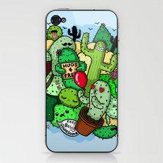 cactus love iPhone & iPod Skin