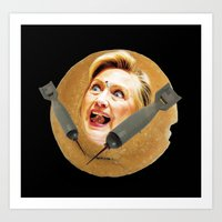 Hillary Pancake Art Print