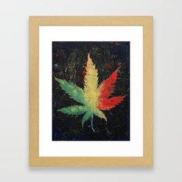 Marijuana Framed Art Print