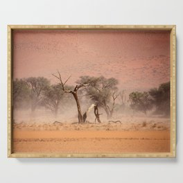 NAMIBIA ... through the storm I Serving Tray