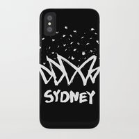 sydney iPhone & iPod Cases featuring Sydney by Stoo York