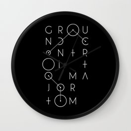Ground Control Wall Clock