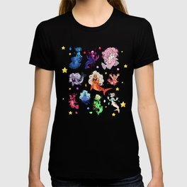 crystals under the sea T-shirt