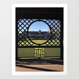 Autumn at the International Tennis Hall of Fame Art Print
