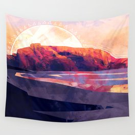 Table Mountain Africa Wall Tapestry