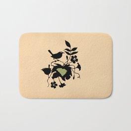 South Carolina - State Papercut Print Bath Mat