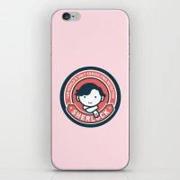 Sherlock - Cute Sherlock Holmes in Red iPhone & iPod Skin