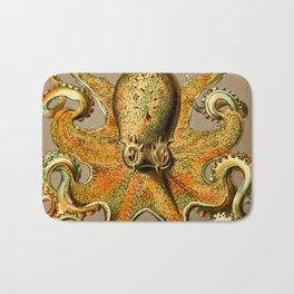 Vintage Golden Octopus Bath Mat