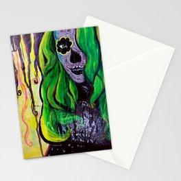 Citrus Sugar Skull Stationery Cards