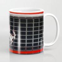 ferrari Mugs featuring Ferrari 2 by Rainer Steinke
