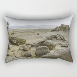 Somewhere in the Gobi Desert Rectangular Pillow