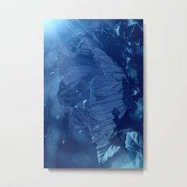 Where Blue Faeries Go Metal Print