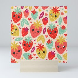 Berry Good! Mini Art Print
