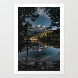 Lake Mood - Landscape and Nature Photography Art Print