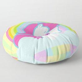 g2 my little pony logo repro Floor Pillow