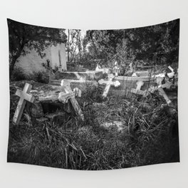 Derelict Crosses Wall Tapestry