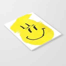 Smiley Glitch Notebook