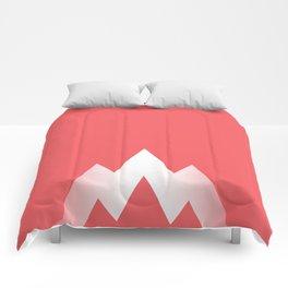 Coral Pink Comforters