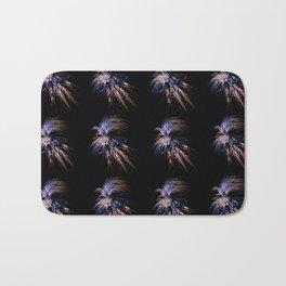 Feather firework Bath Mat