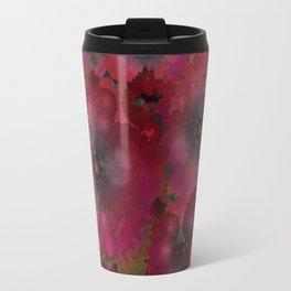 """Manila deep rose flowers"" Travel Mug"