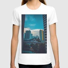 Downtown City Scene (Color) T-shirt