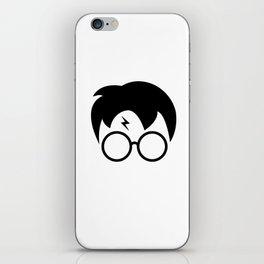 Harry P minimal iPhone Skin