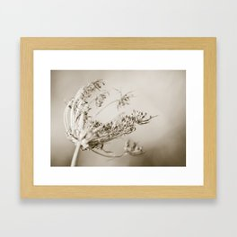 Where the strong winds blow Framed Art Print